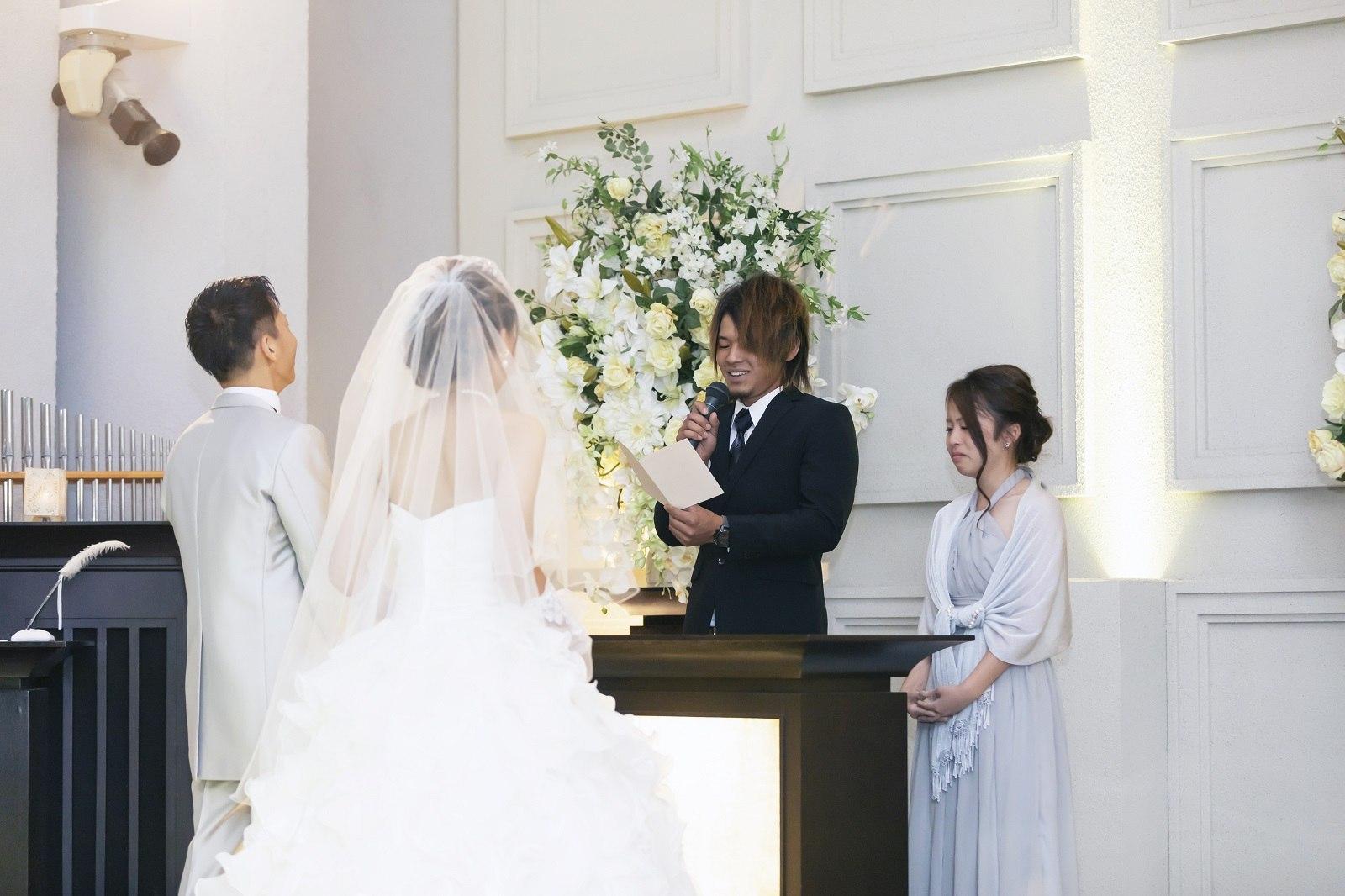 香川県高松市の小さな結婚式相談カウンターマリマリコンシェルジュのご紹介式場 シェルエメールでの人前式