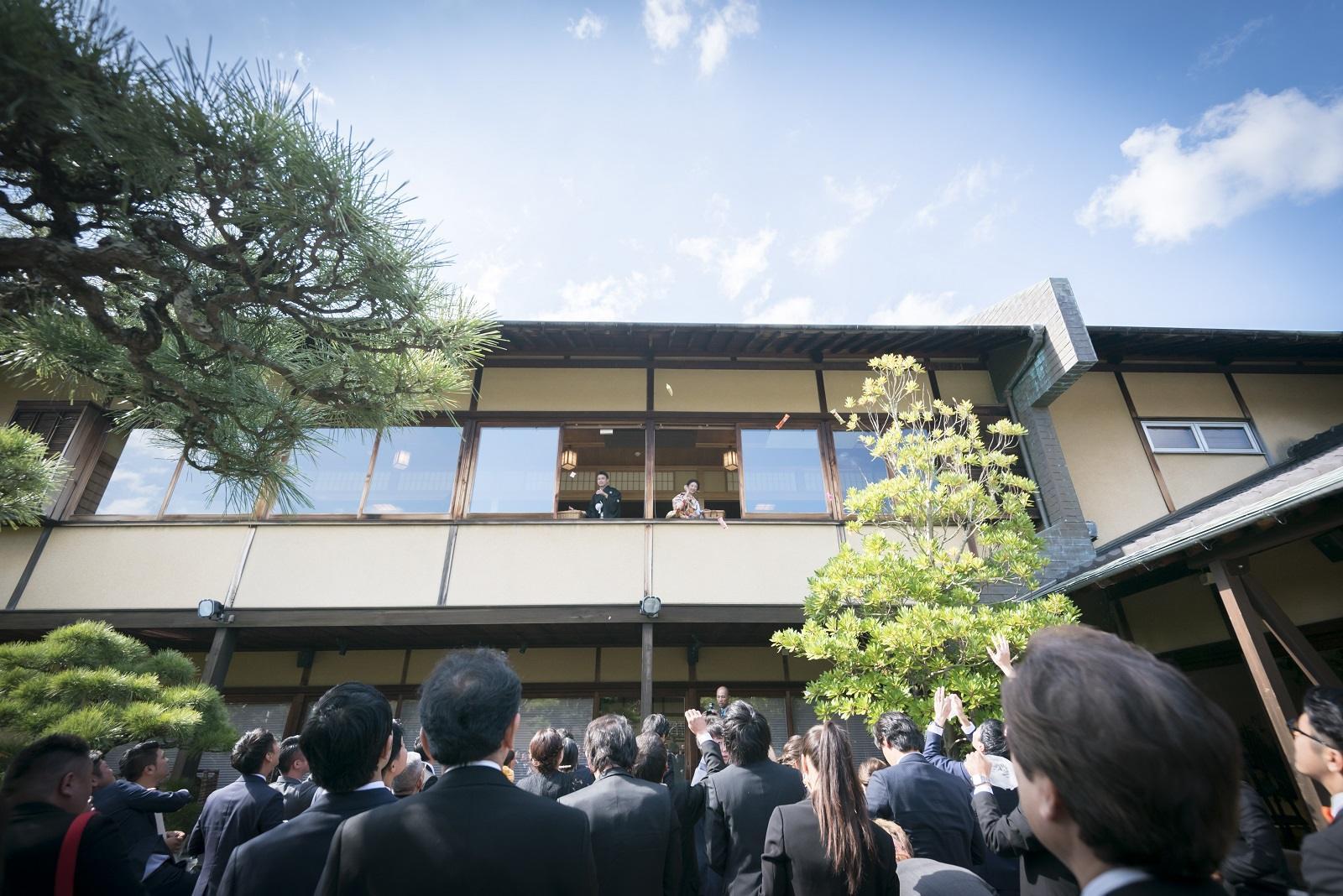 香川県高松市の小さな結婚式相談カウンターマリマリコンシェルジュのご紹介式場 弓絃葉での結婚式風景