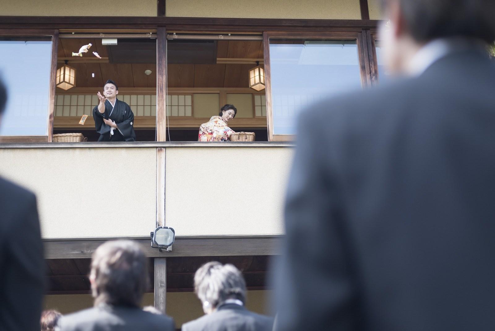 香川県高松市の小さな結婚式相談カウンターマリマリコンシェルジュのご紹介式場 弓絃葉の2階からプチギフト