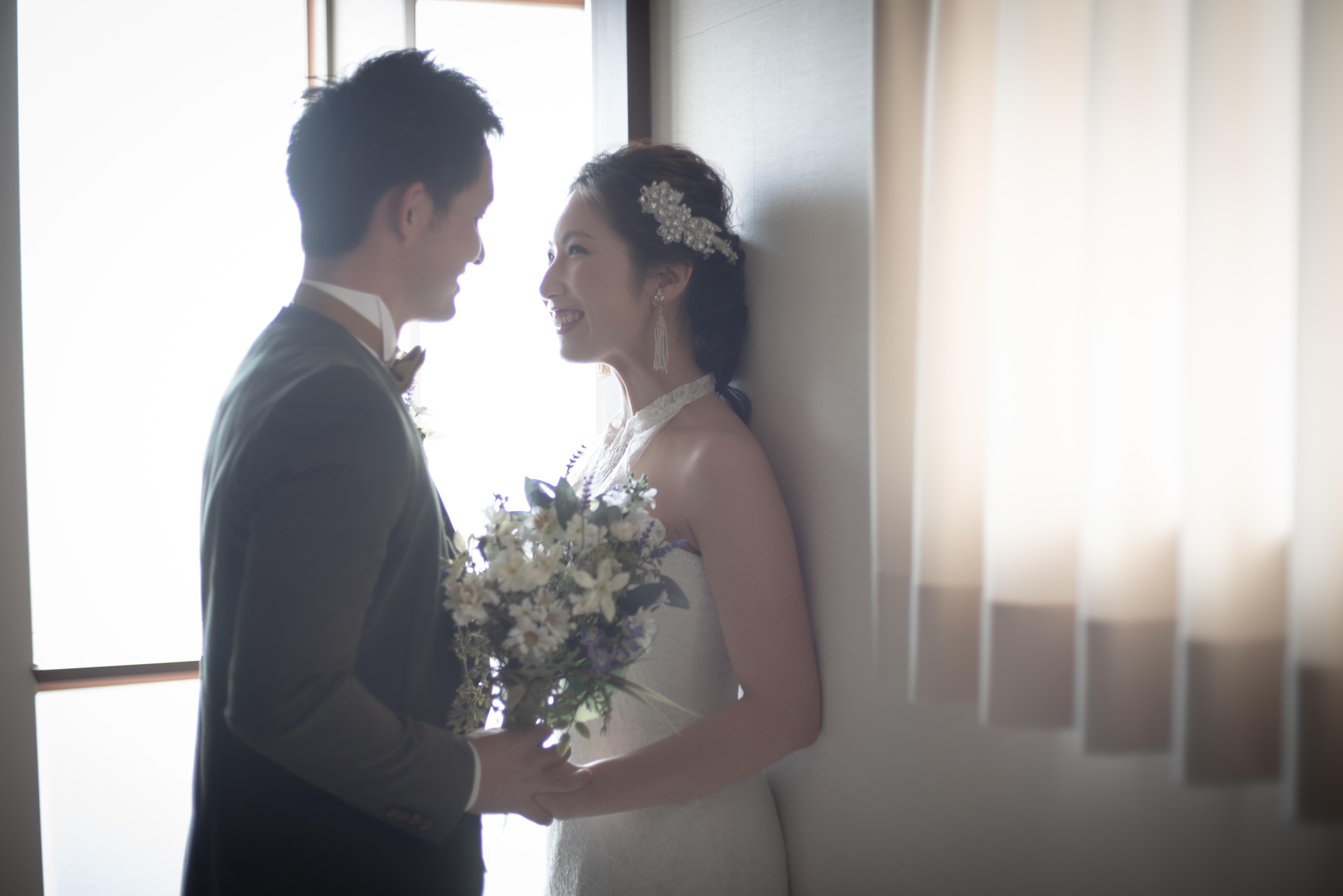 香川県高松市の小さな結婚式紹介所マリマリコンシェルジュで費用を抑えたフォトウエディング