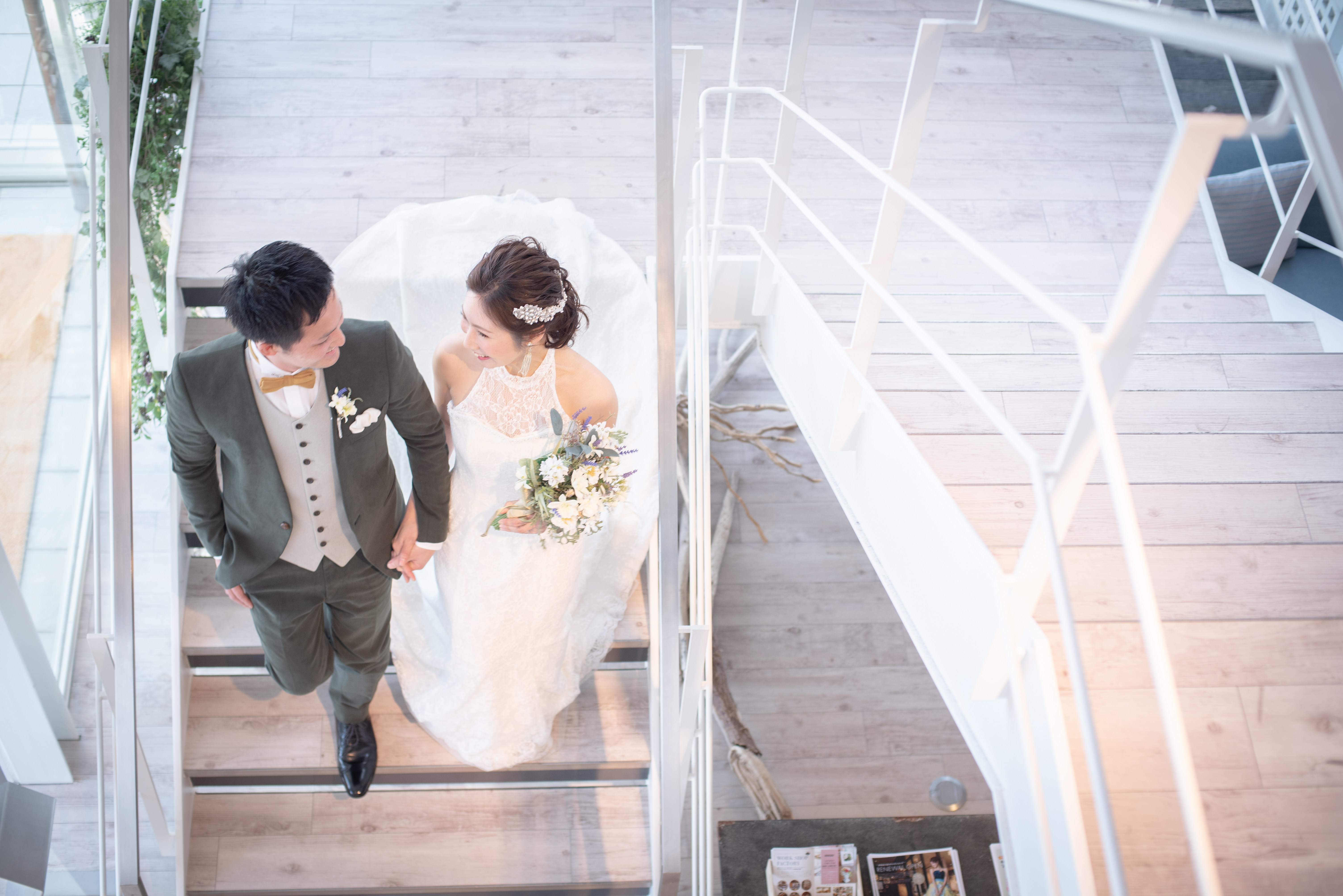 香川県高松市の小さな結婚式紹介所マリマリコンシェルジュでのフォト撮影