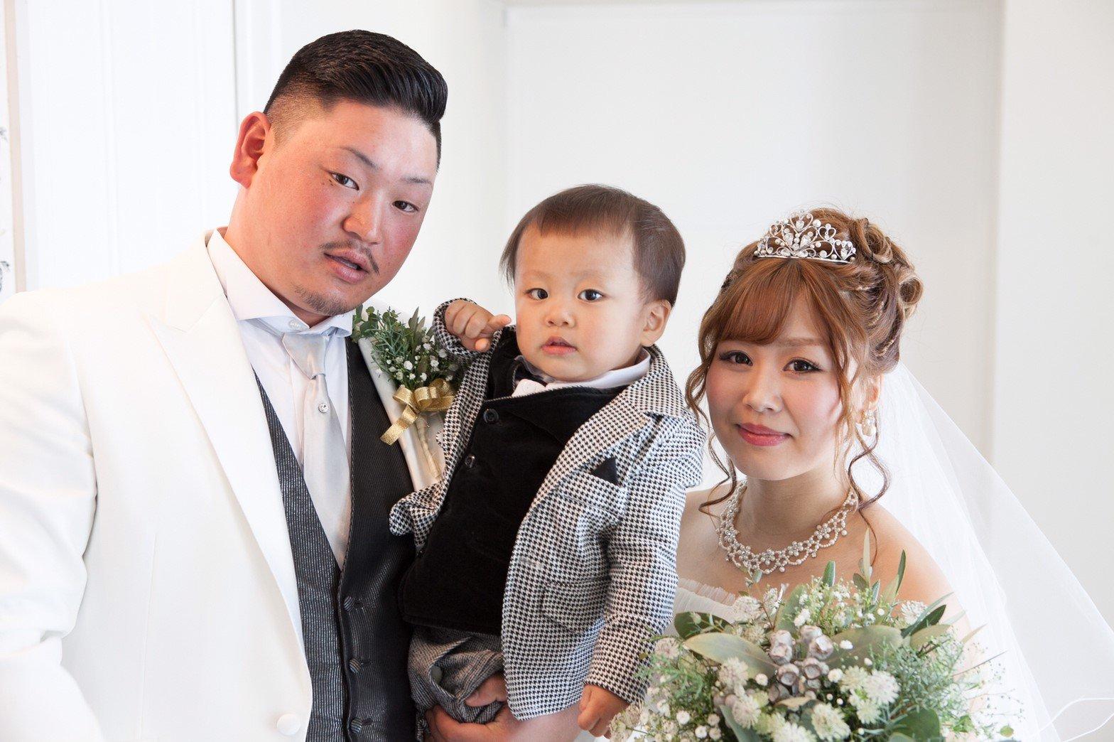 香川県高松市の小さな結婚式紹介所マリマリコンシェルジュでファミリーフォト撮影