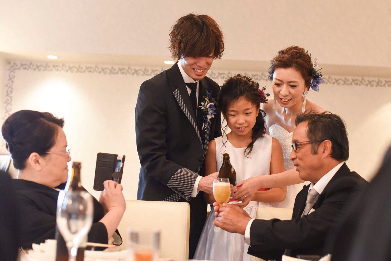 香川県高松市の小さな結婚式紹介所マリマリコンシェルジュで親族のみの食事会を