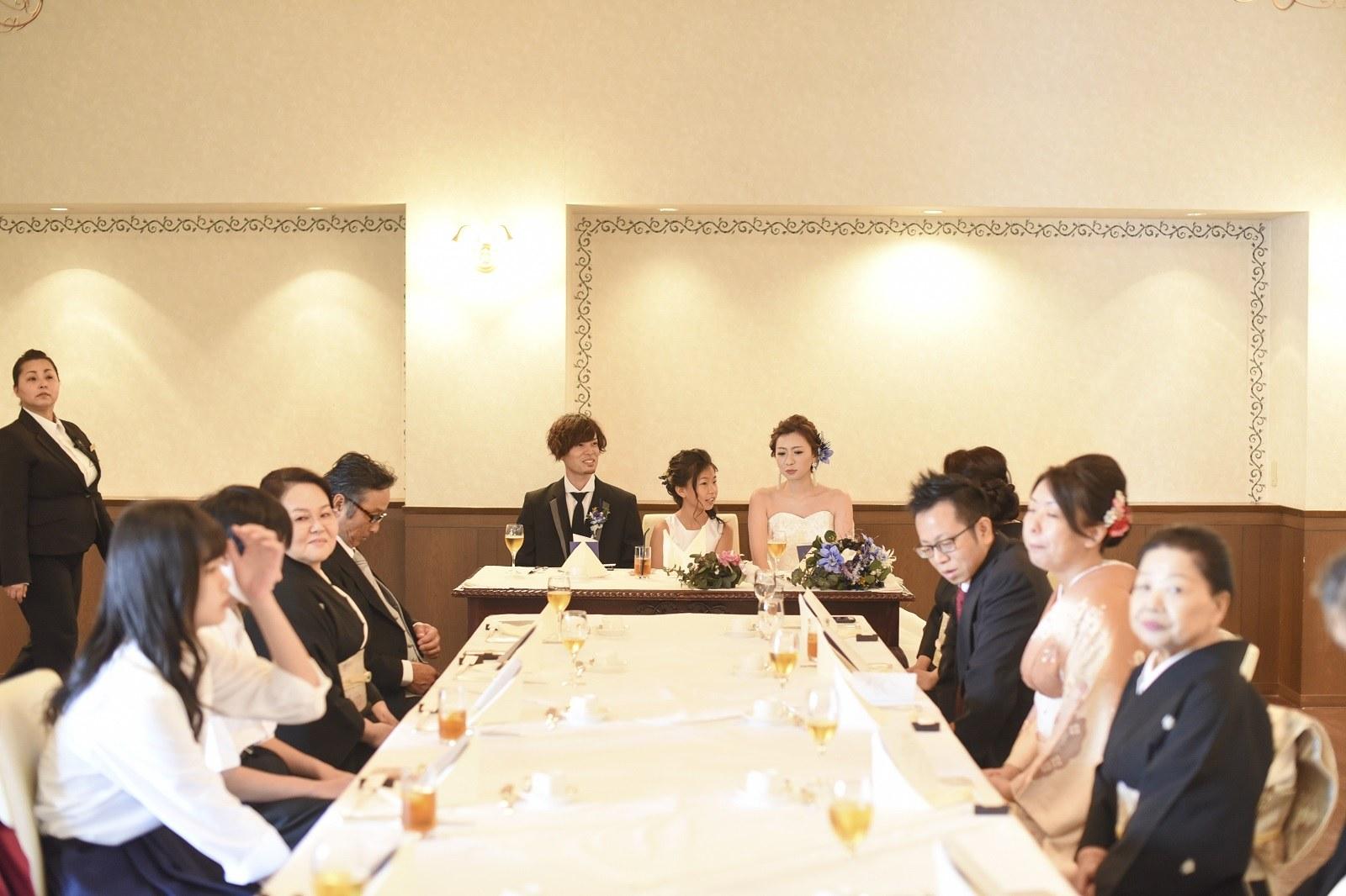 香川県高松市の小さな結婚式紹介所マリマリコンシェルジュで親族のみ食事会