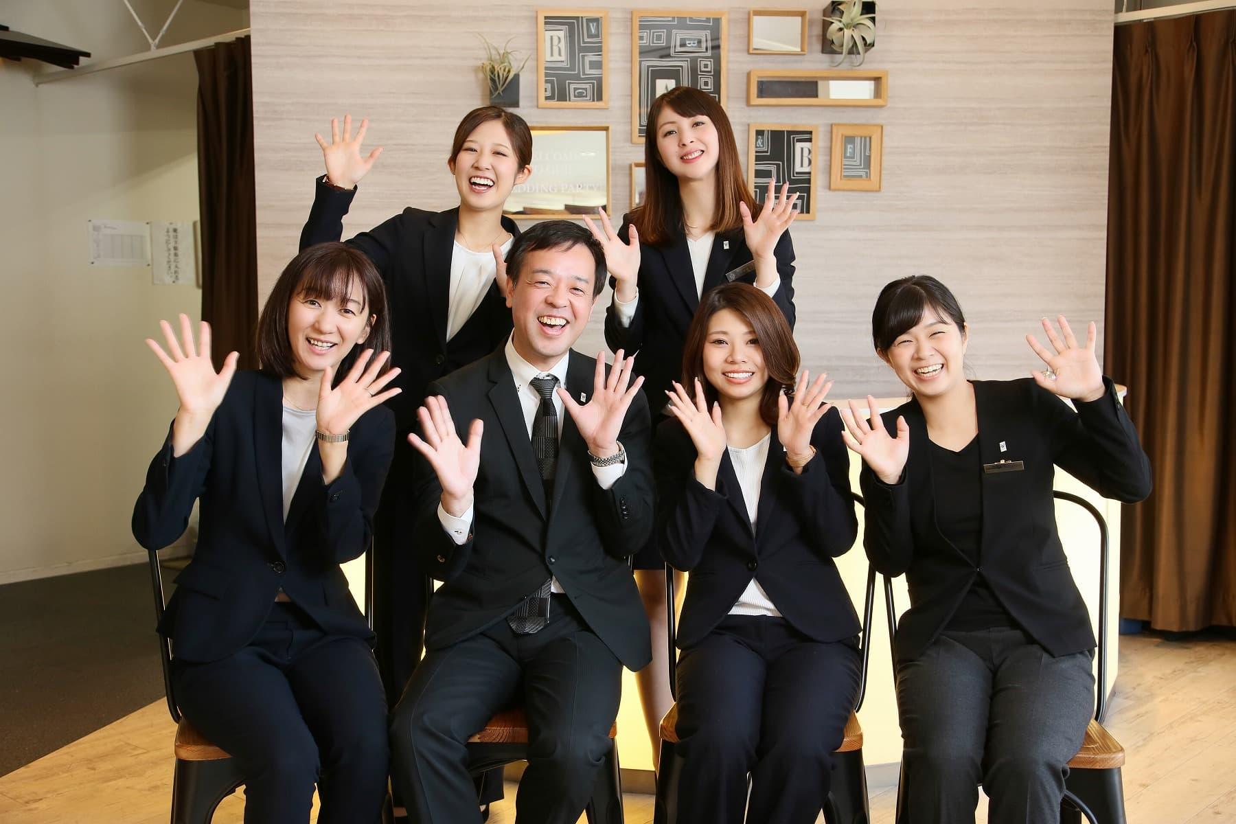 香川県高松市の小さな結婚式相談所マリマリコンシェルジュのスタッフ