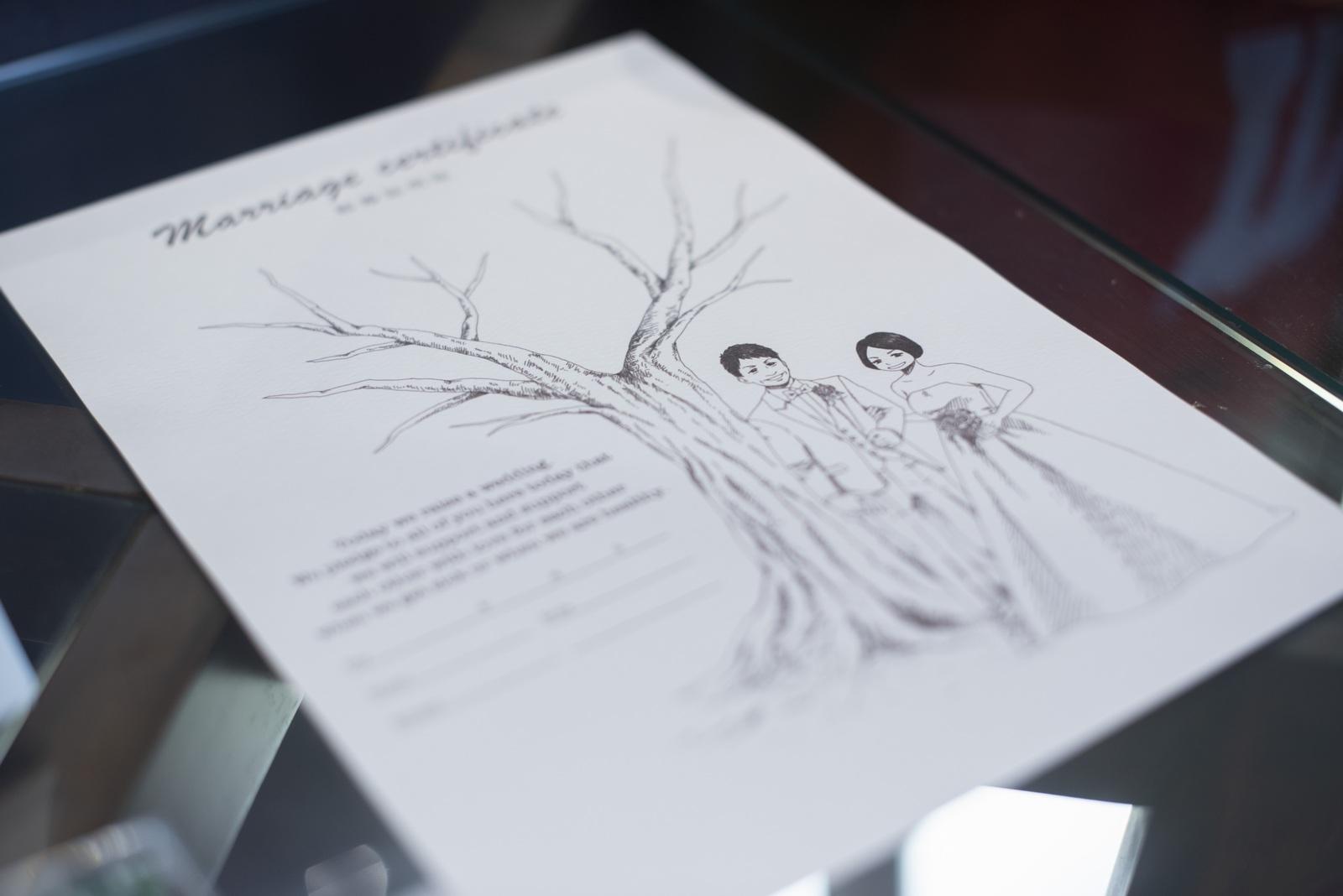 高松市の結婚式場アイルバレクラブ 受付