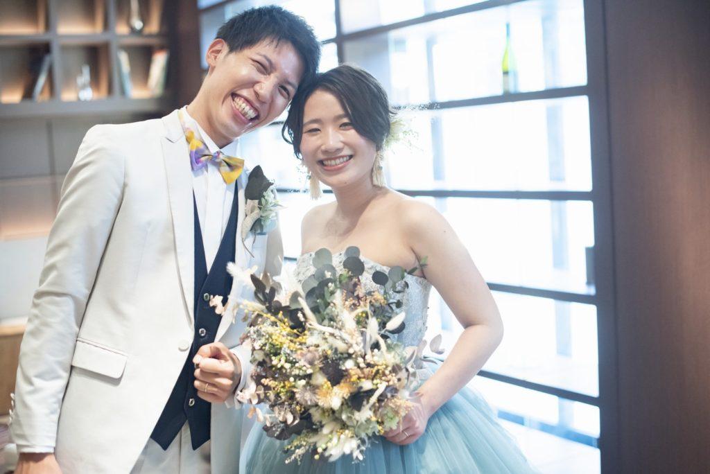 高松市の結婚式場アイルバレクラブ 笑顔
